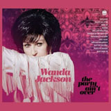 CD Cover: Wanda Jackson - The Party Ain't Over