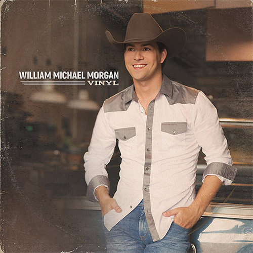 CD Cover: William Michael Morgan - Vinyl