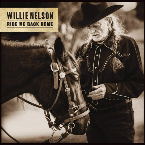 CD Cover: Willie Nelson - Ride Me Back Home