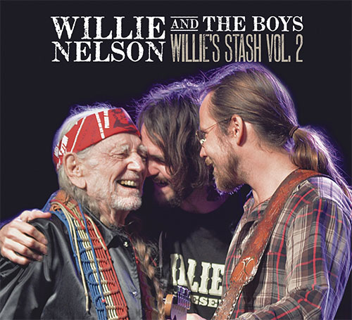 CD Cover: Willie Nelson and the Boys - Willie's Stash, Volume 2