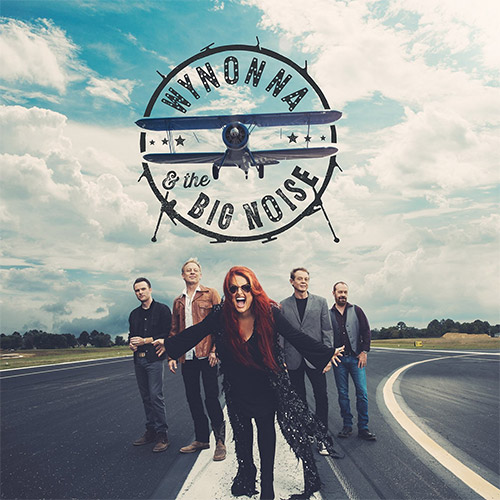CD Cover: Wynonna & The Big Noise - Wynonna & The Big Noise