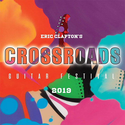 DVD Cover: Eric Clapton's Crossroads Guitar Festival 2019