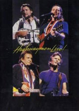 Highwaymen live DVD Cover