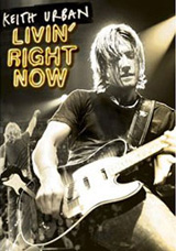 Keith Urban - Livin Right Now DVD Cover