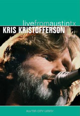 kris Kristofferson Live from Austin TX DVD Cover