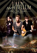 DVD Cover: Lady Antebellum - Own The Night: World Tour