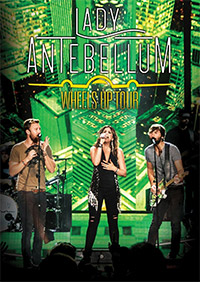 DVD Cover: Lady Antebellum - Wheels Up Tour