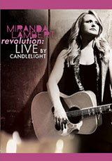 DVD Cover: Miranda Lambert - Revolution: Live By Candlelight