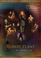 DVD Cover: Robert Plant & The Band Of Joy - Live From the Artists Den