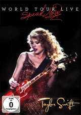 DVD Cover: Taylor Swift - Speak Now World Tour Live