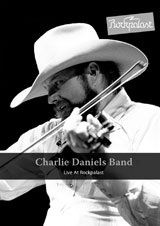 DVD Cover: The Charlie Daniels Band - Live at Rockpalast