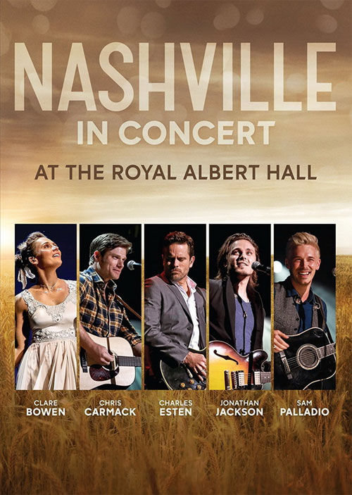 DVD Cover: Various Artists - Nashville in Concert
