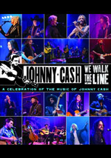DVD Cover: Various Artists - We Walk The Line: A Celebration of The Music of Johnny Cash