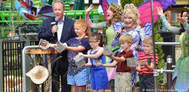 Dolly Parton eröffnet Wildwood Grove