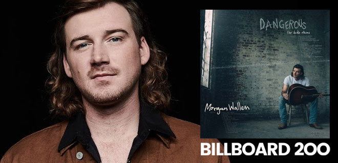 Morgan Wallen - Billboard Top 200 Charts