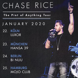 Chase Rice 2020 Tour
