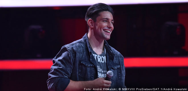 Alexander Eder bei The Voice of Germany