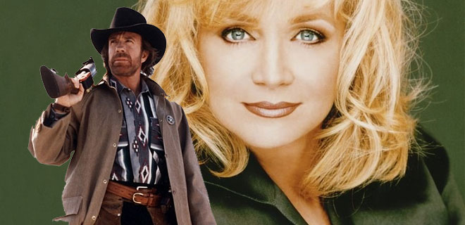 Barbara Mandrell in Walker Texas Ranger