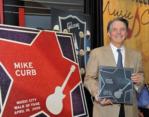 Mike Curb's Music City Walk of Fame Stern