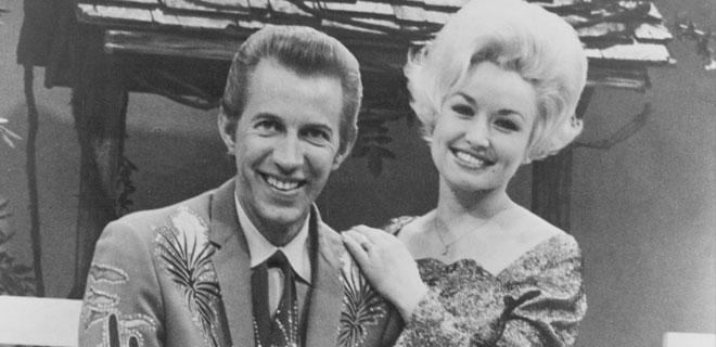 Dolly Parton und Porter Wagoner