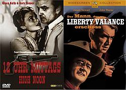 DVD - High Noon und The Man Who Shot Liberty Valance