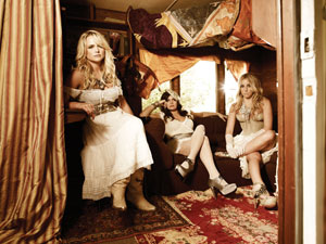The Pistol Annies: Miranda Lambert, Angeleena Presley and Ashley Monroe. Photo credit: Randee St. Nicholas