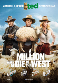Filmplakat: A Million Ways to Die in the West