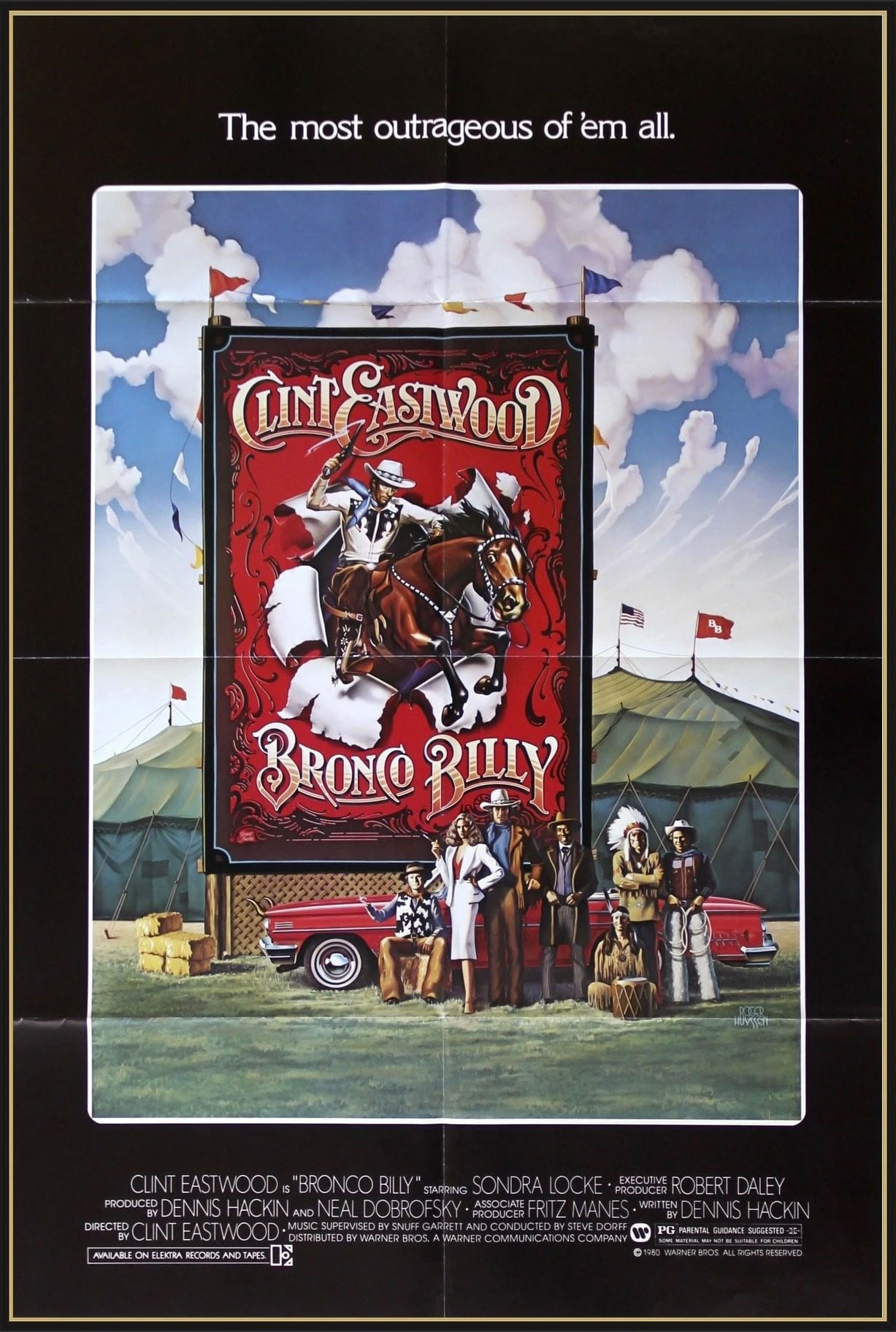 Filmplakat: Bronco Billy
