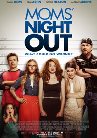 Filmplakat: Moms' Night Out