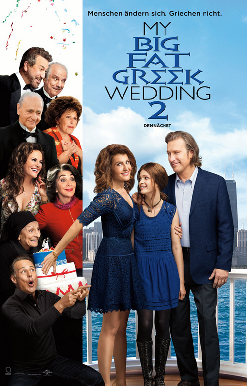 Filmplakat: My Big Fat Greek Wedding 2