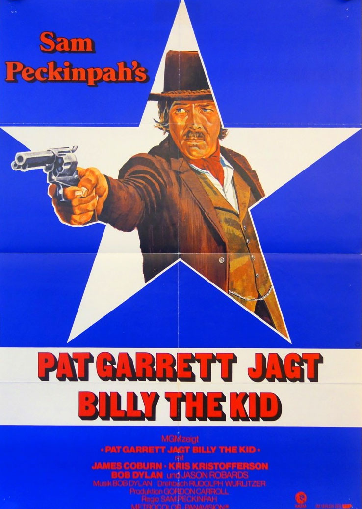Filmplakat: Pat Garrett jagt Billy the Kid